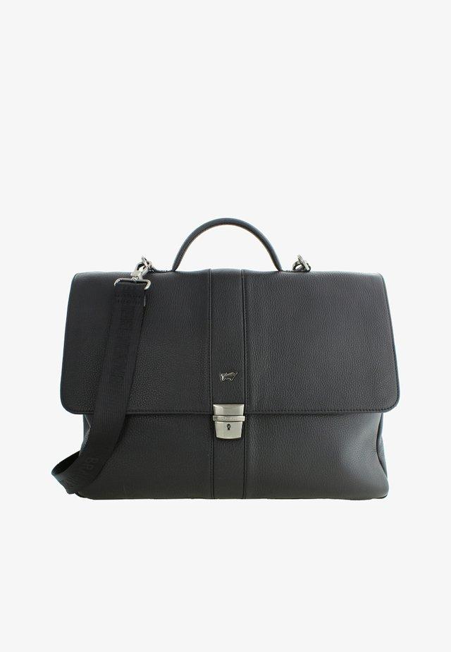 MIT SICHEREM SCHLOSS - Briefcase - black