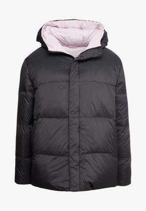 DEW PARLA - Down coat - black/pink