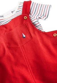 Next - RED DUNGAREES AND BODYSUIT SET (0MTHS-2YRS) - Body - red - 3