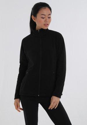 QUEST - Fleece jacket - black