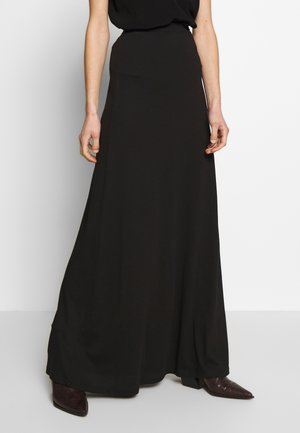 BASIC - Maxi skirt - Maxinederdele -  black