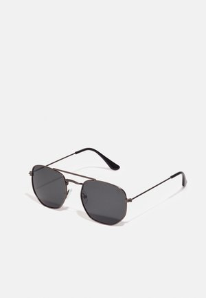 JOHN - Sunglasses - gun metal/black