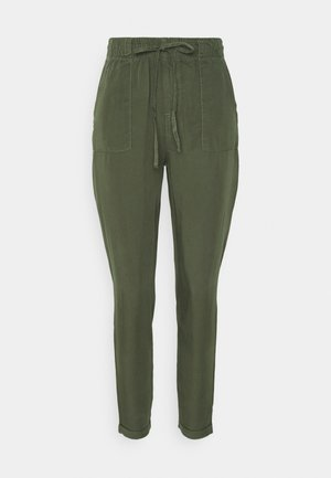 NMCAMY PANTS - Trousers - kalamata