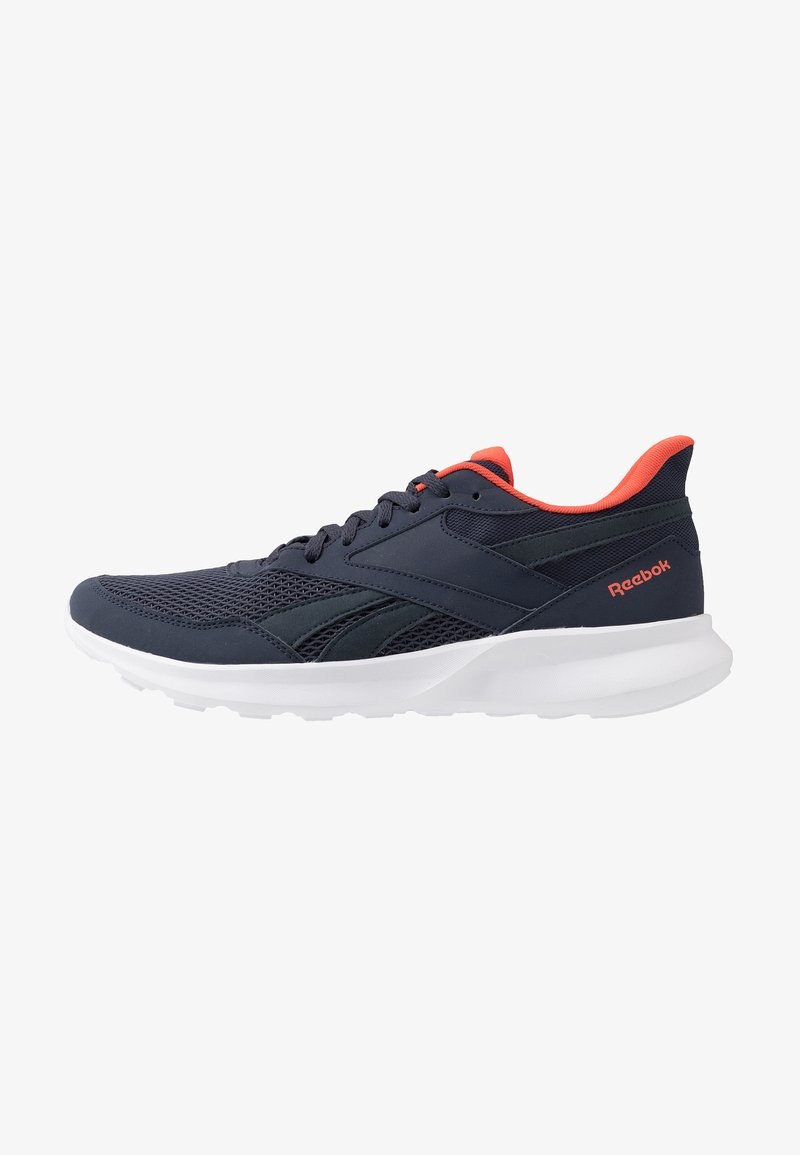 Reebok - QUICK MOTION 2.0 - Neutral running shoes - hero navy/white/vivid orange
