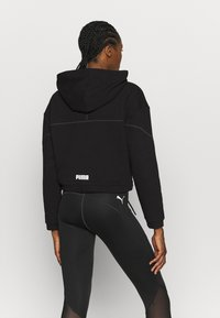 Puma - FULL ZIP HOODIE - Zip-up hoodie - black - 2