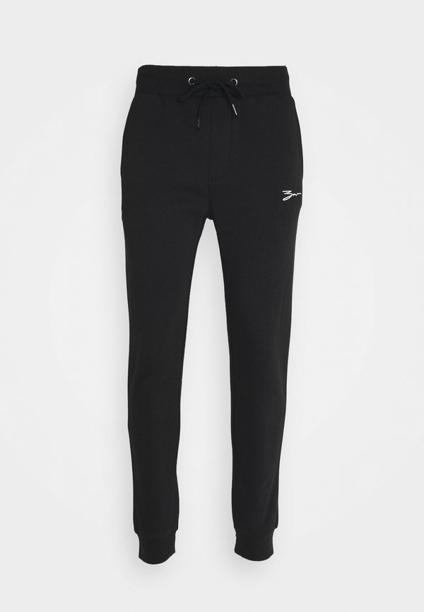 Zign SET - Bluza z kapturem - black/czarny Odzież Męska KFUB