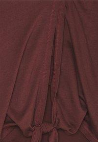 Casall - TIE BACK TANK - Top - mahogany red - 2