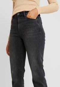 G-Star - CODAM HIGH KICK FLARE 7\8 WMN - Flared Jeans - worn in basalt - 4