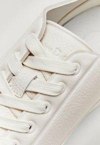 Massimo Dutti - Sneakersy niskie - beige - 6