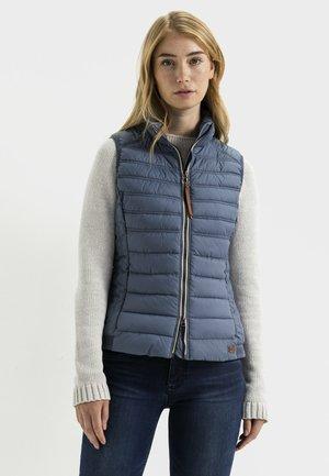 STEPPWESTE - Waistcoat - blue