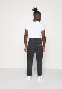 Carhartt WIP - NEWEL PANT MAITLAND - Relaxed fit jeans - black mid worn wash - 2