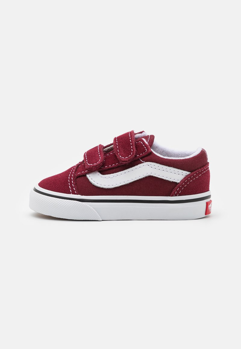 Vans - OLD SKOOL UNISEX - Sneakers laag - pomegranate/true white
