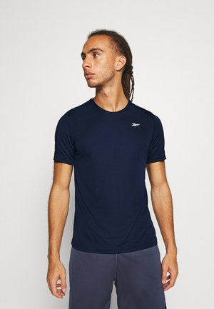 TECH TEE - Print T-shirt - collegiate navy