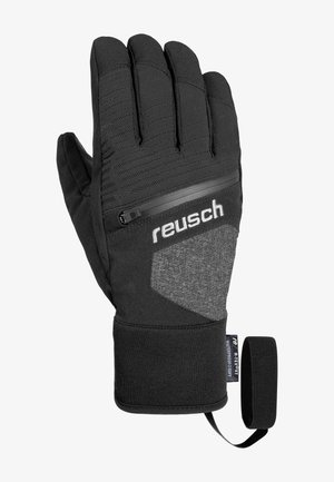 Gloves - black melange / black