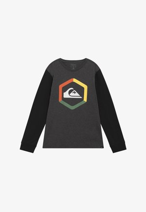 THE BOLDNESS YOUTH - Long sleeved top - charcoal heather