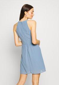 Vila - VIMILINA HALTERNECK - Vestido de cóctel - ashley blue - 2