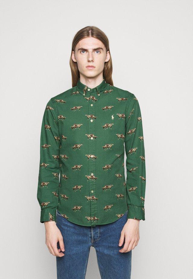PRINTED CHINO - Shirt - green