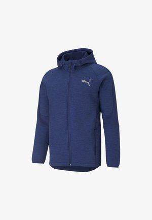 EVOSTRIPE  - Zip-up hoodie - elektro blue