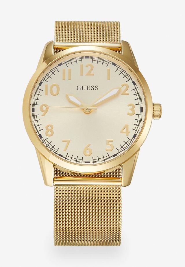 Uhr - light gold-coloured