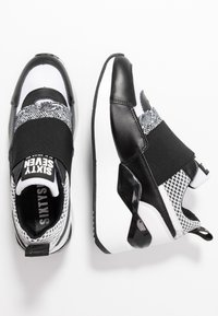 Sixtyseven - WASEDA - Slip-ons - actled black/white - 3