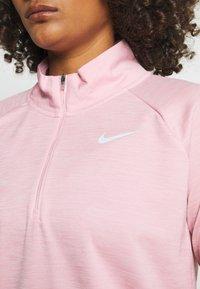 Nike Performance - PACER - Sports shirt - pink glaze/heather/reflective silver - 3