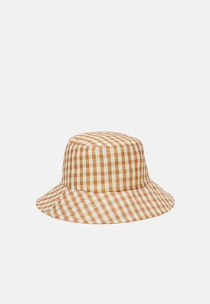 BUCKET HAT - Kšiltovka - amber gingham
