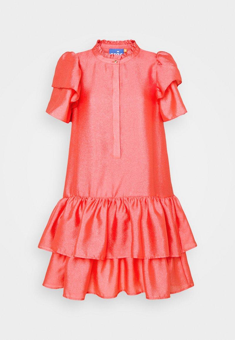 Cras - DALIACRAS DRESS - Day dress - sunkissed coral