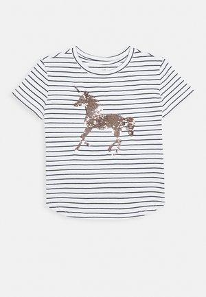 GIRL JUNE - Print T-shirt - navy