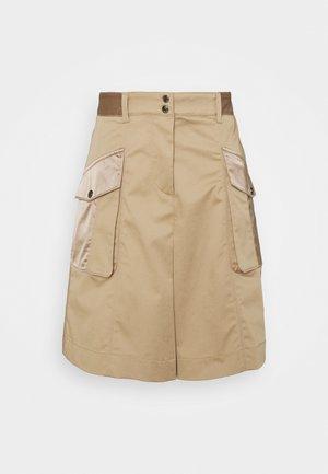 A-line skirt - classic sand