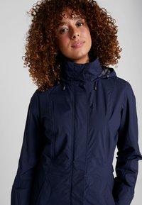 Vaude - WOMEN'S KAPSIKI COAT - Hardshell jacket - eclipse uni - 4