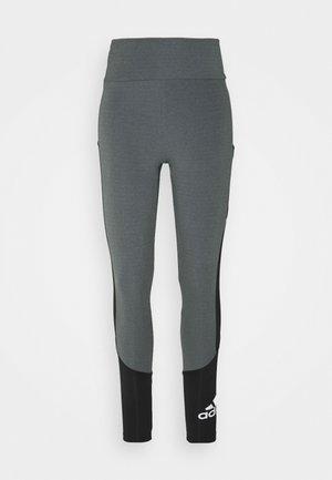 Leggings - grey/black/white
