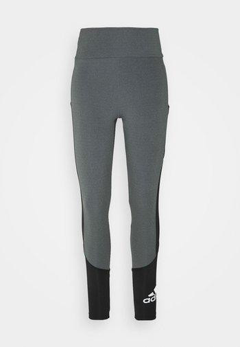 Legging - grey/black/white