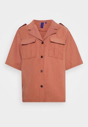 APHRODITE - Button-down blouse - rouge