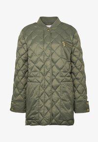 Part Two - ADDA - Classic coat - deep lichen green - 3