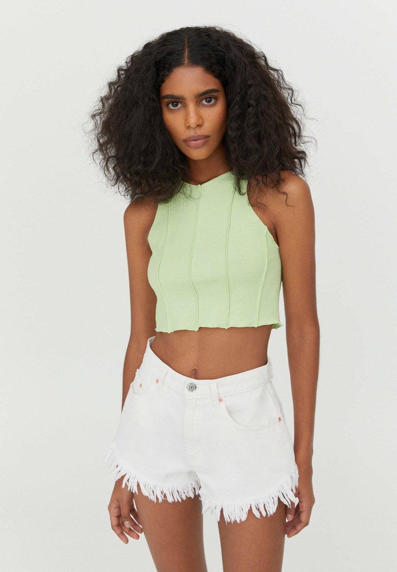 PULL&BEAR - Top - green