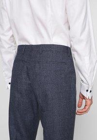 Tommy Hilfiger Tailored - BLEND  SLIM FIT SUIT - Suit - blue - 6