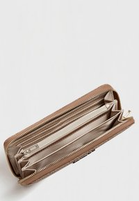 Guess - GUESS GROSSES PORTEMONNAIE ALBY - Wallet - braun - 2