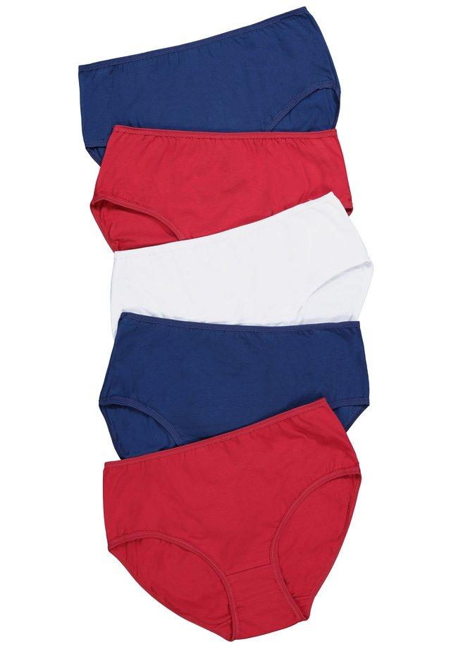 5 PACK - Slip - blue/red/white