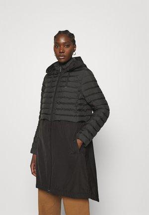SOLARBALL - Klasyczny płaszcz - schwarz
