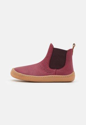 BAREFOOT CHELYS UNISEX - Classic ankle boots - bordeaux