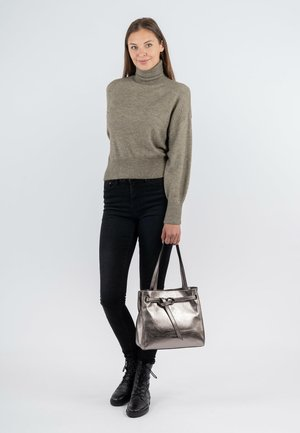 Handbag - darksilver 833