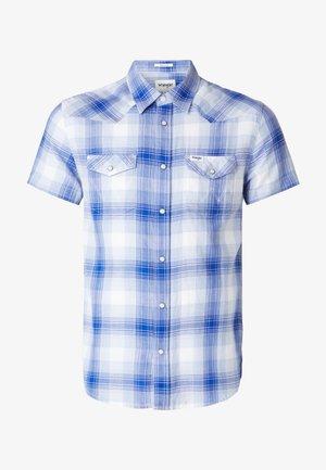 SS WESTERN SHIRT - Shirt - surf blue