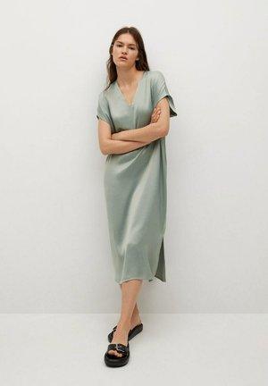 MATILDA - Day dress - havgrønn