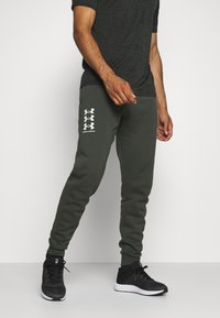 Under Armour - RIVAL MULTILOGO - Joggebukse - baroque green - 0