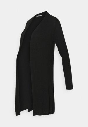 CARDIGAN LONG - Chaqueta de punto - black