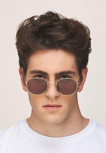 Sunglasses - gold kakao
