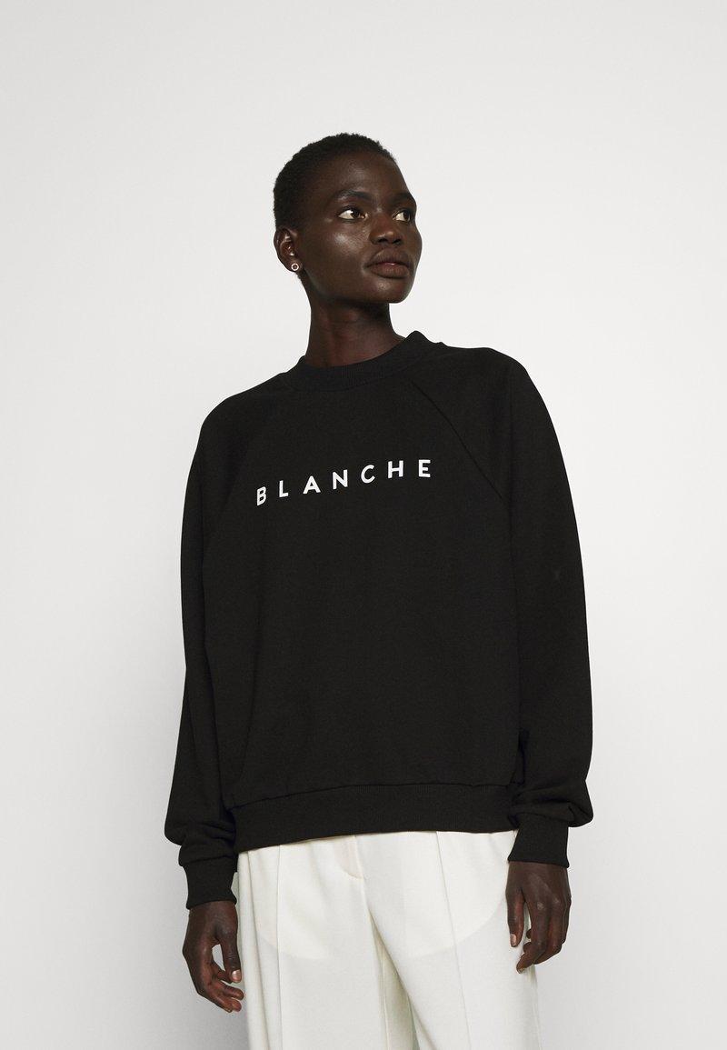 BLANCHE - HELLA - Sweatshirt - black