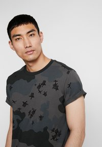 G-Star - SWANDO RELAXED RT S/S - Print T-shirt - black - 3