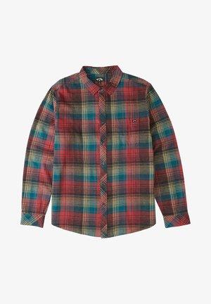 COASTLINE   - Shirt - oxblood