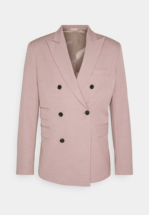 MARVIN DOUBLEBREASTED - Blazer jacket - dusty rose